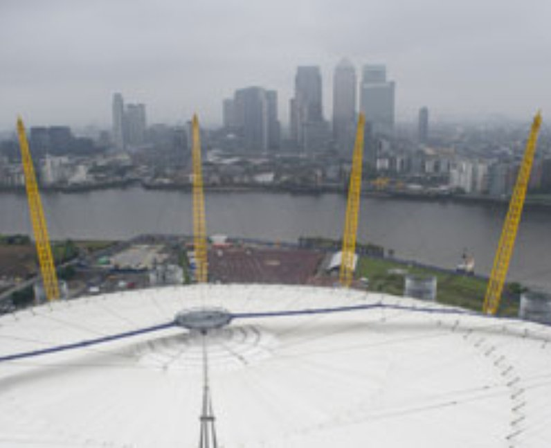 Cheap Views of London Up At The O2